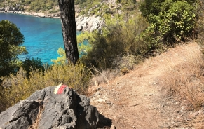 Lycian Way, Around Kabak Bay